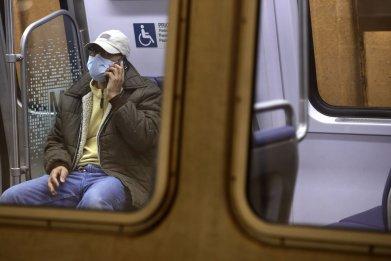COVID-19 - Man on phone