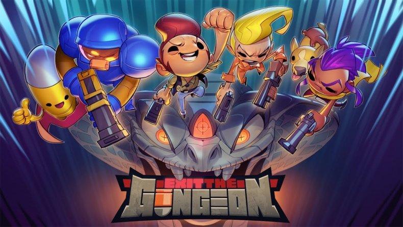 exit the gungeon nintendo switch logo