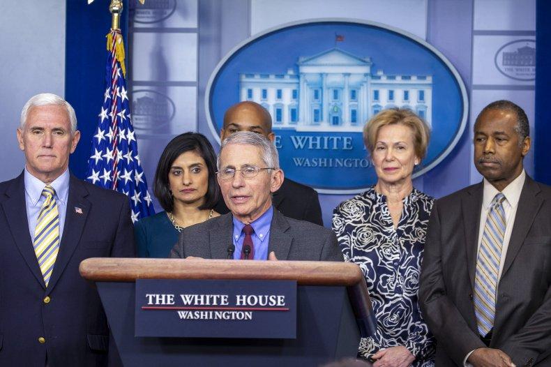Coronavirus White House