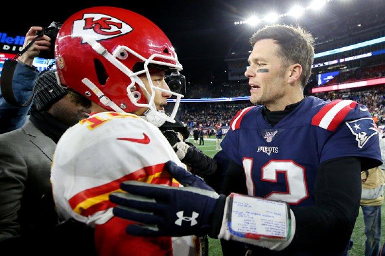 Tom Brady and Patrick Mahomes