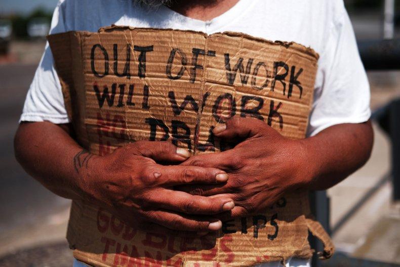 US economy recession coronavirus poverty