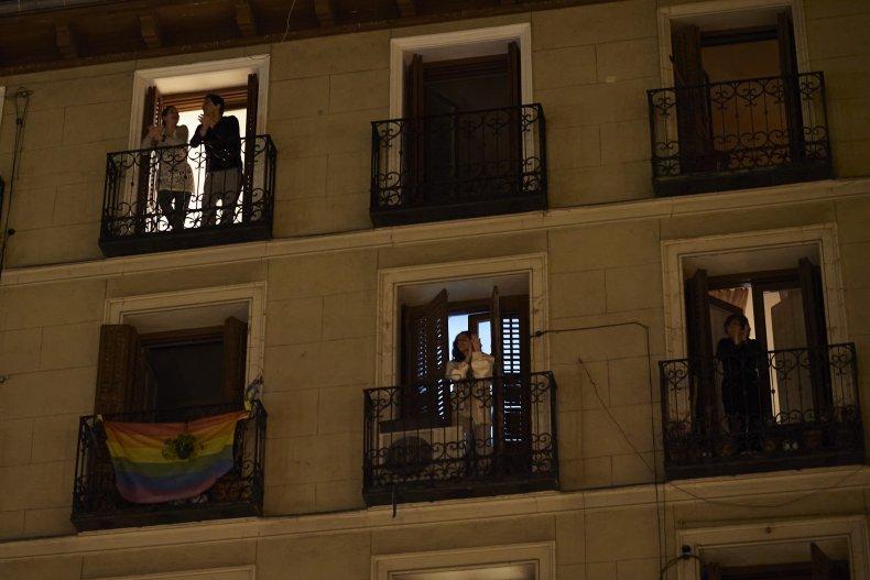 Getty Images Madrid Lockdown
