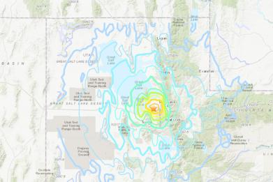 Earthquake USGS SLC Utah 2