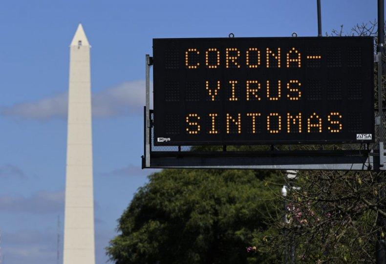 Coronavirus in Argentina