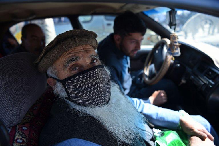 afghanistan, covid-19, coronavirus, kabul, facemask
