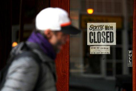 closed restaurant california coronavirus