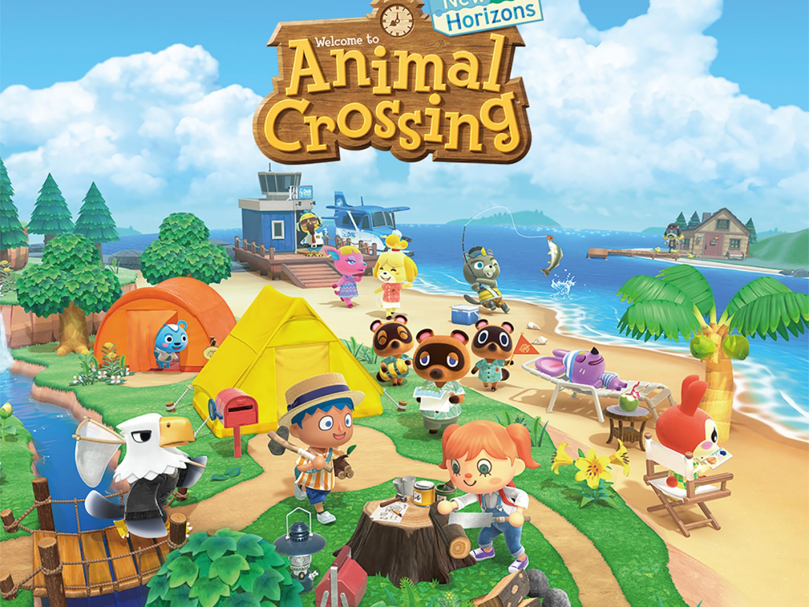 Animal Crossing New Horizons Release Date Time When And How To Download