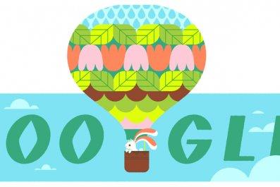 Spring Equinox Google Doodle