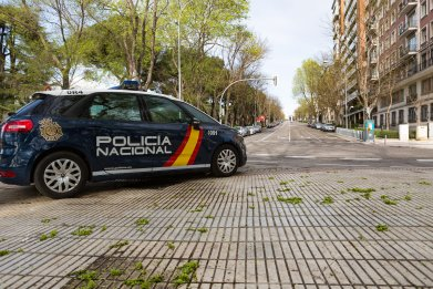 National police - Spain