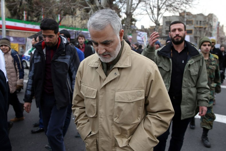 qassem, soleimani, iran, ceremony, islamic, revolution