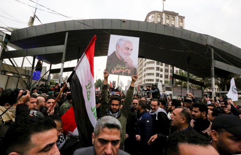 iraq, protest, soleimani, muhandis, deaths