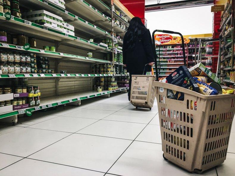 France Qwartz shopping centre March 2020