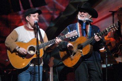 Willie Nelson and Paul Simon