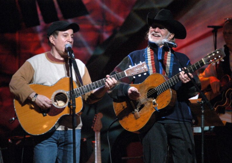 Willie Nelson and Paul Simon