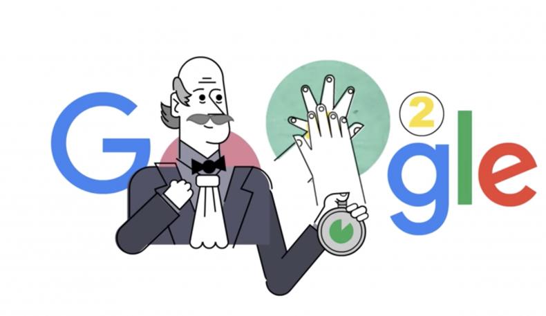 Google Doodle - Ignaz Semmelweis