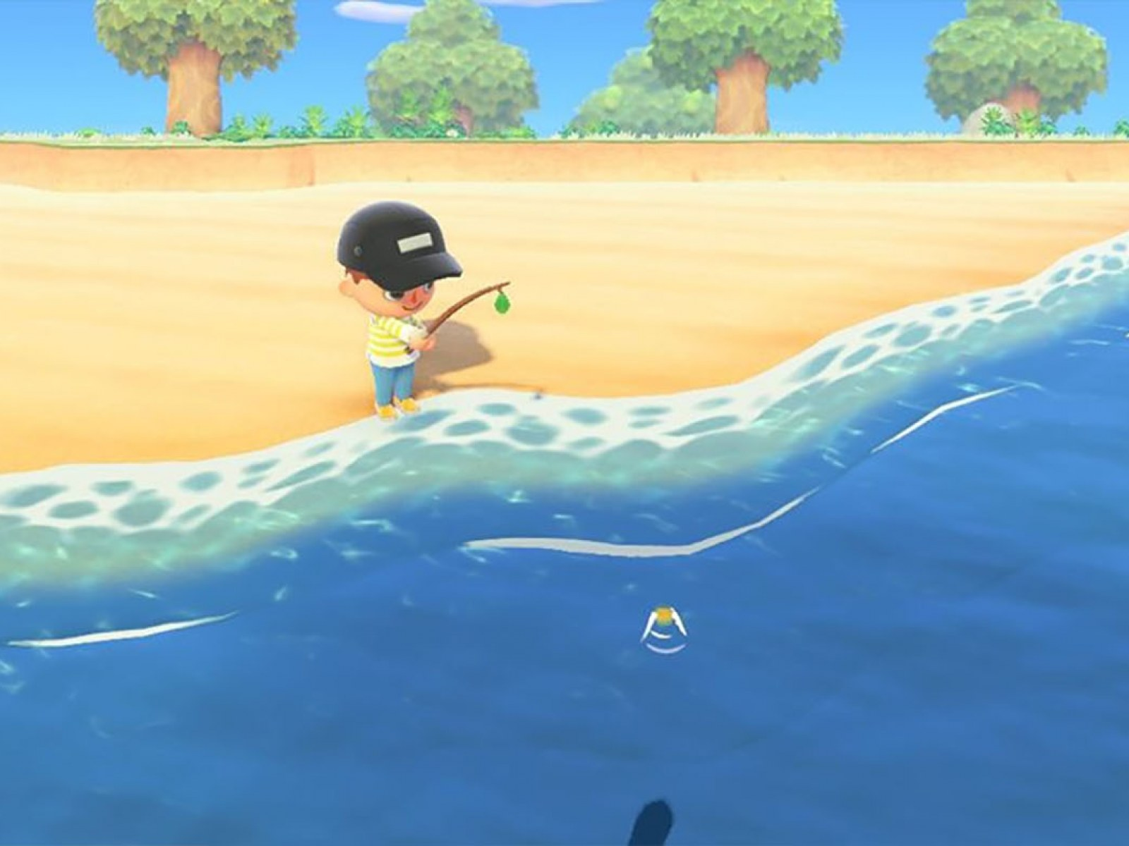 Animal Crossing New Horizons Fishing Guide Where To Get A Fishing Rod And Best Practices