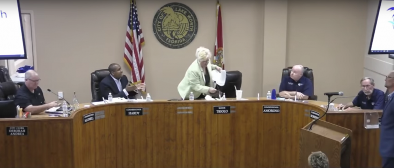 'This is a Banana Republic': Local Commissioner Unloads on Florida Mayor, Accuses Her of Bungling COVID-19 Response Lake-worth-beach
