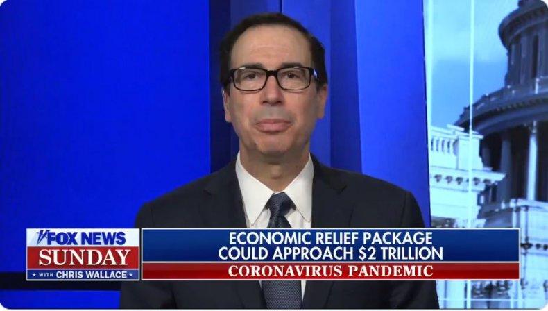steve mnuchin coronavirus economic stimulus
