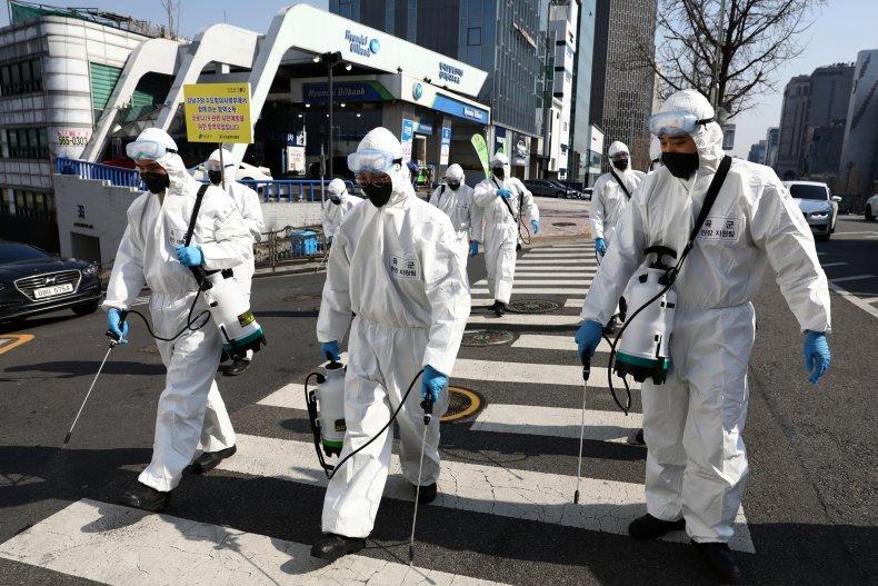 South Korea, Coronavirus, March 2020