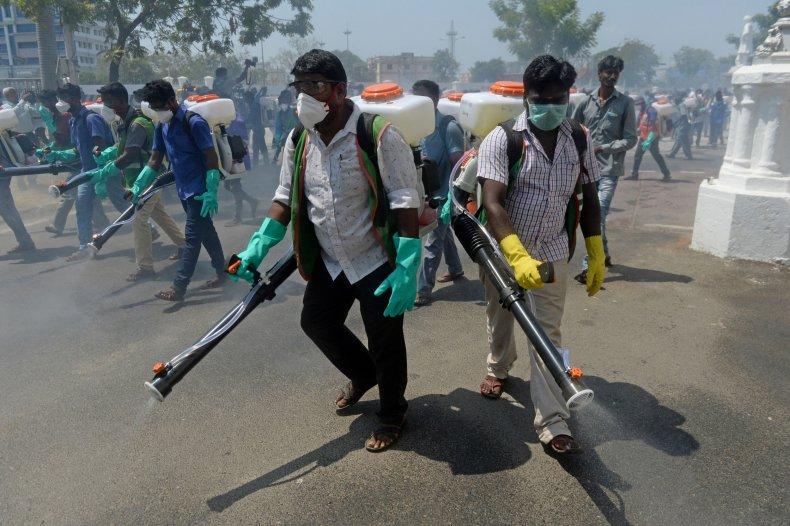India, coronavirus, March 2020