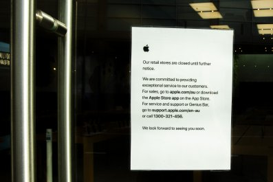 Closed Apple Store