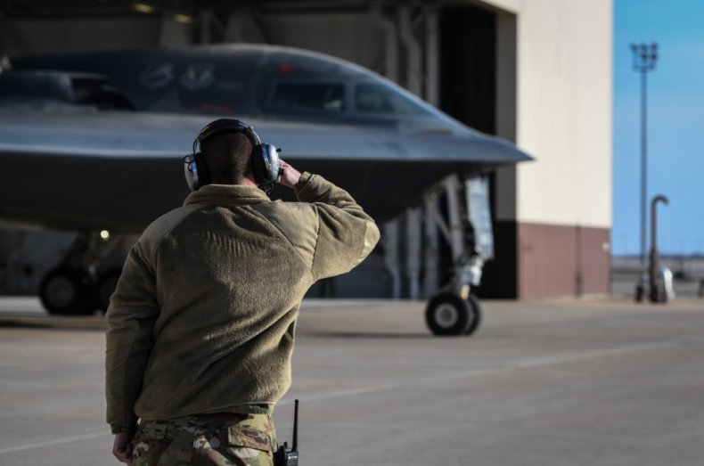B-2 stealth bomber nuclear forces readiness