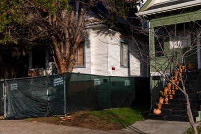rented house, Oakland, California