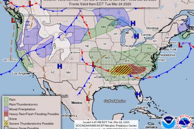 NOAA National Forecast 03242020