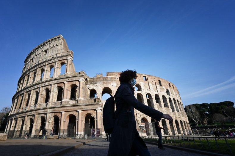 Rome Italy Coronavirus March 2020