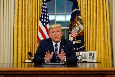 Donald Trump Address on COVID-19 Outbreak