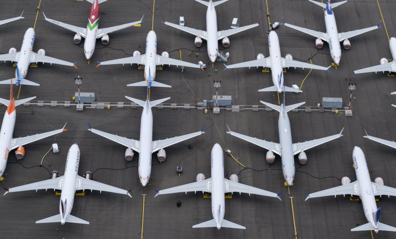 Boeing, 737 MAX, coronavirus, planes, airlines, grounded