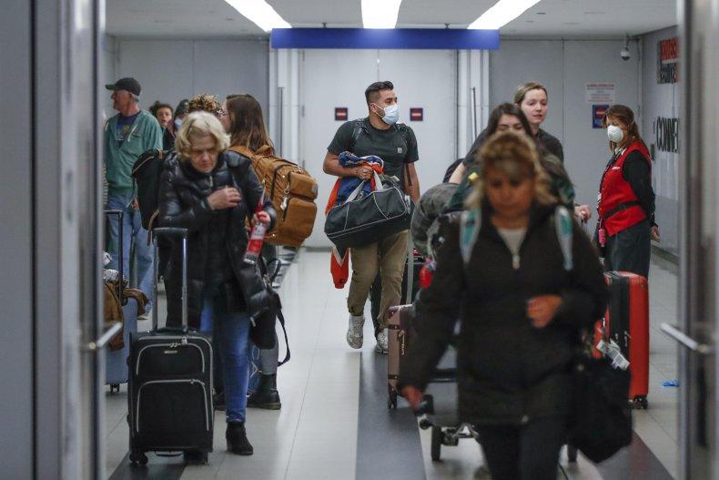 O'Hare, airport, coronavirus, travelers, airlines, TSA, emergency