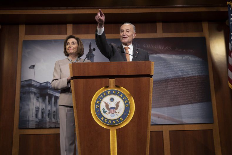coronavirus stimulus package includes demands by Democrats