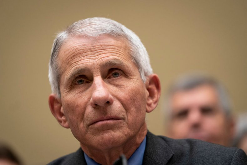 Dr. Anthony Fauci at Capitol Hearing