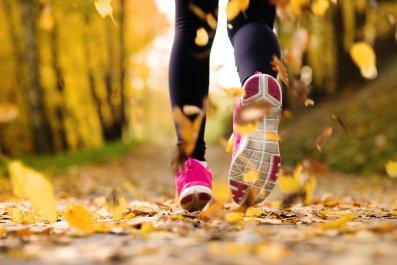 Stock image: Runner