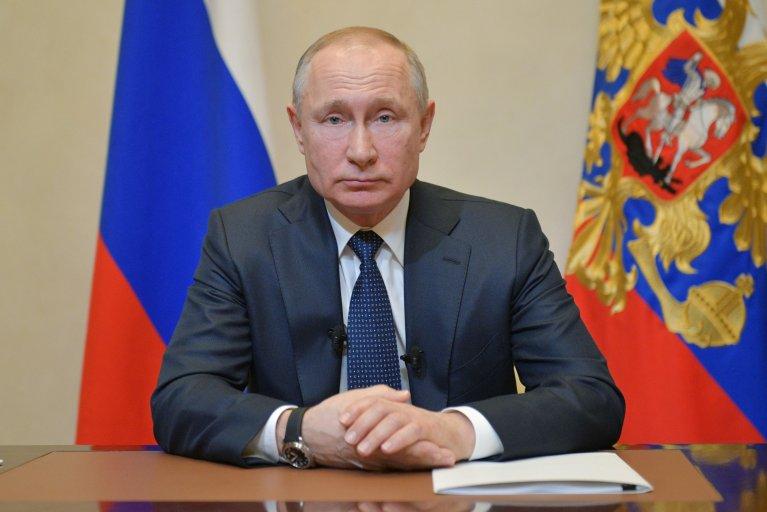 russia, president, vladimir, putin, coronavirus, covid-19, speech