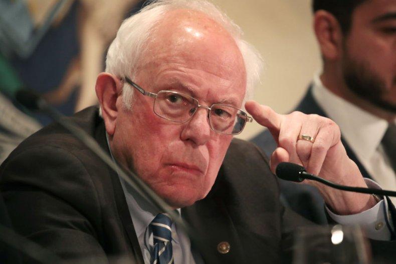 Bernie Sanders at Coronavirus Roundtable
