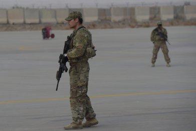 U.S. solder Afghanistan