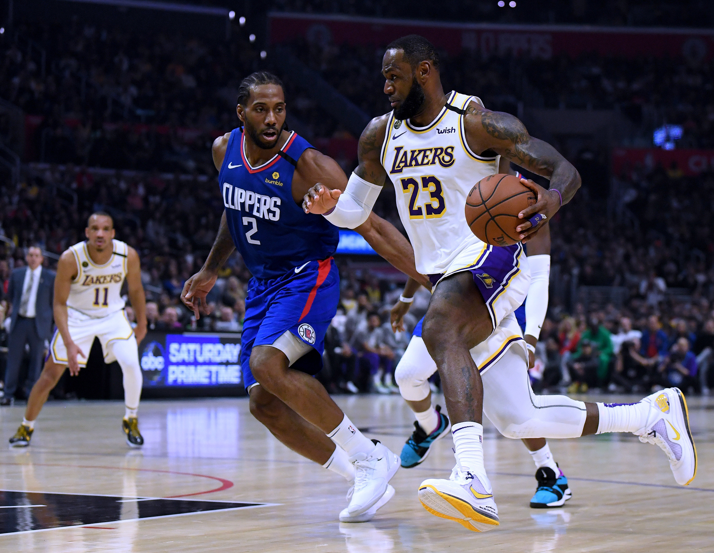 NBA Schedule 2020: Clippers vs. Lakers Start Time, TV ...