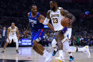 LeBron James, Kawhi Leonard, Los Angeles Lakers
