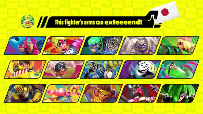 arms characters smash ultimate nintendo direct