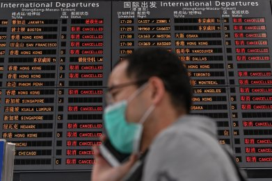 china, airport, travel, suspend, entry, foreigners