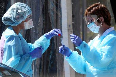 coronavirus, covid19, testing, getty