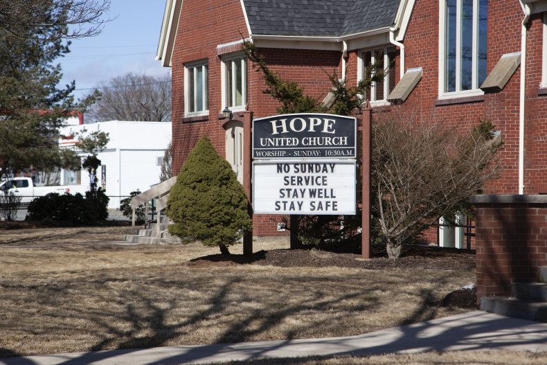 Church Coronavirus Canceled