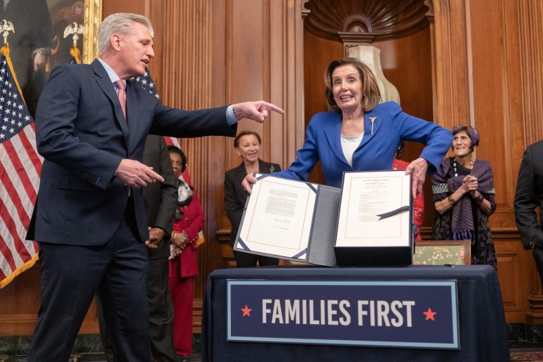 House passes coronavirus stimulus