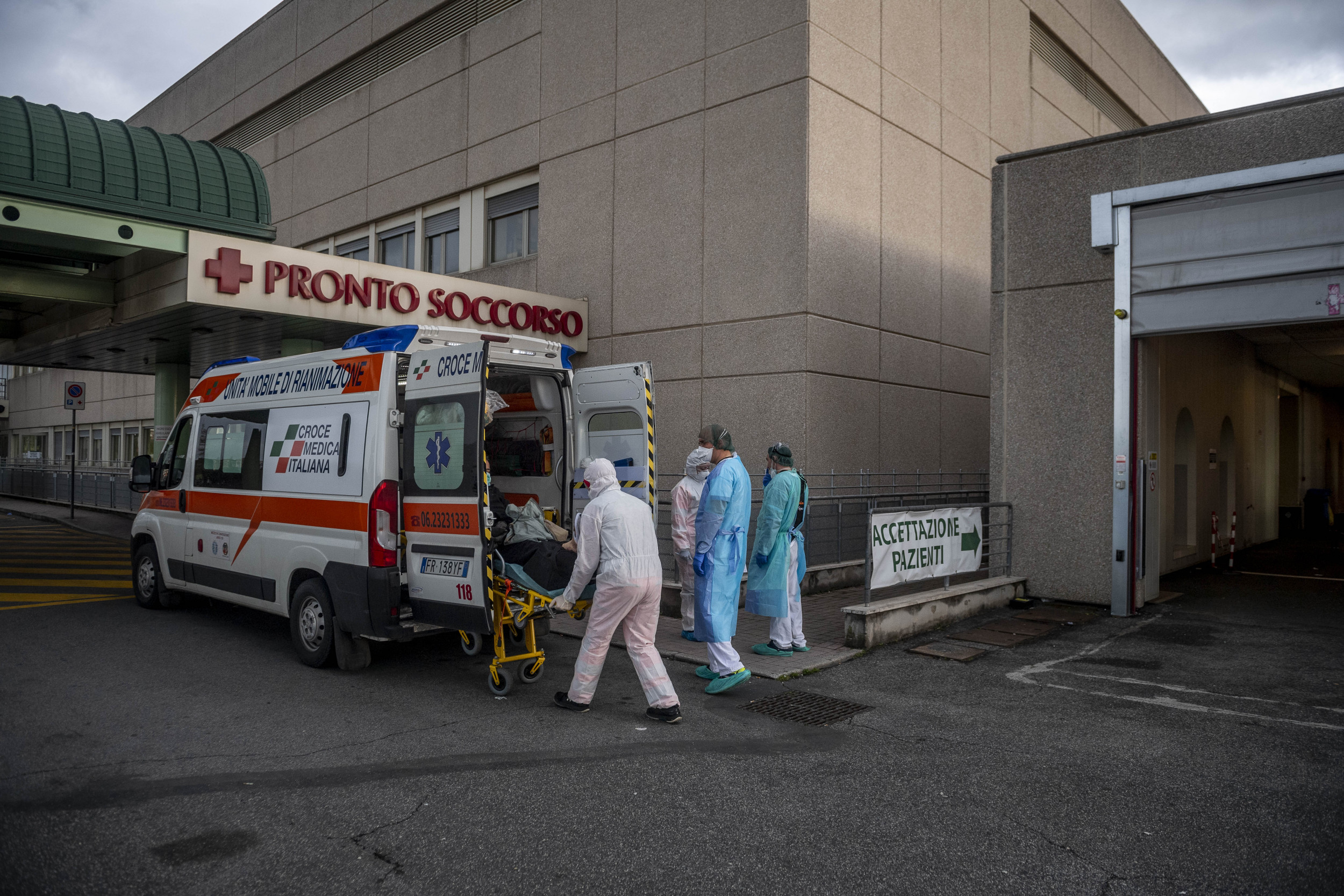 More Than 50 doctors in Italy have now died from coronavirus, with thousands of health care workers infected