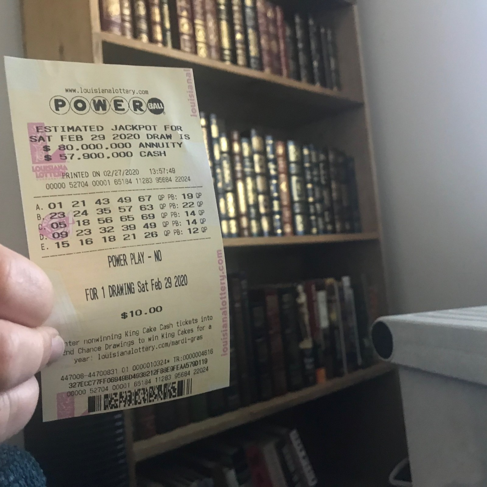 Powerball Numbers For 06 03 20 Wednesday Jackpot Was For 135 Million