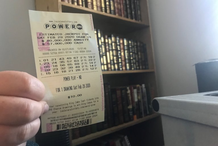 Louisiana Power Play Ticket