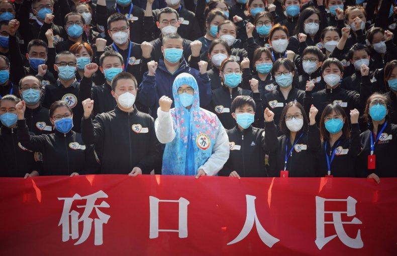 Wuhan, China, coronavirus recoveries, March 2020