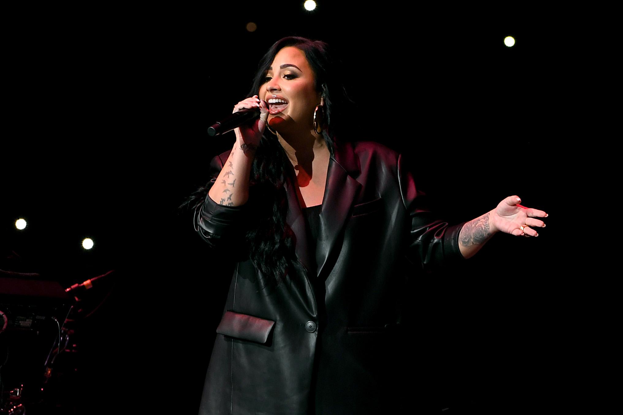 Demi Lovato Crashes Max Ehrich's Instagram Live Amid New Romance